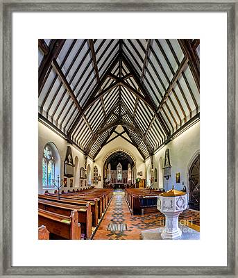 St Peters Framed Print by Adrian Evans