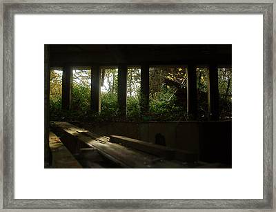 St. Peter's Seminary Framed Print by Peter Cassidy