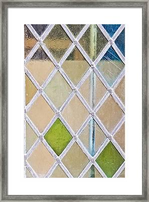 Stained Glass Window Framed Print by Tom Gowanlock