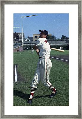 Stan Musial Framed Print by Retro Images Archive
