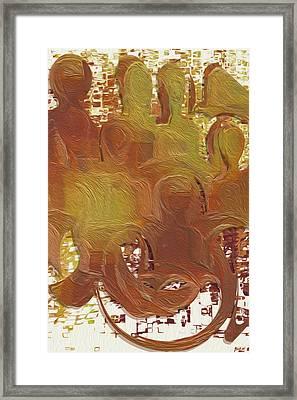 Standing Ovation 4 Framed Print by Jack Zulli