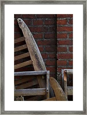 Standing Room Framed Print by Odd Jeppesen