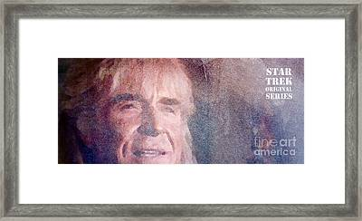 Star Trek Original Series Khan Framed Print by Pablo Franchi