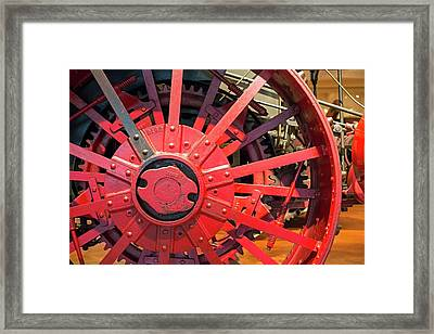 Steam Traction Engine Framed Print by Jim West