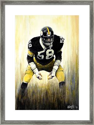 Steel Curtain Framed Print by William Walts