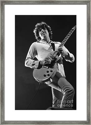 Stone Temple Pilots - Dean Deleo Framed Print by Concert Photos