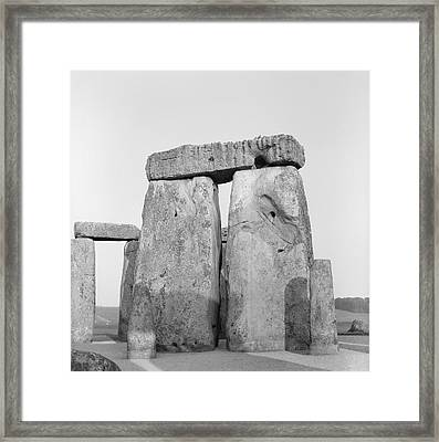 Stonehenge Framed Print by Anonymous