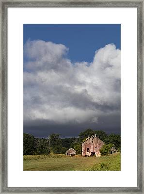 Storm Passing Framed Print by Barbara Smith