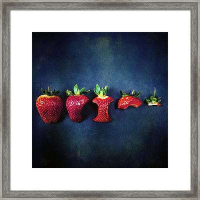 Strawberries Framed Print by Joana Kruse