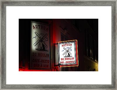 Street Scenes - Paris France - 011313 Framed Print by DC Photographer