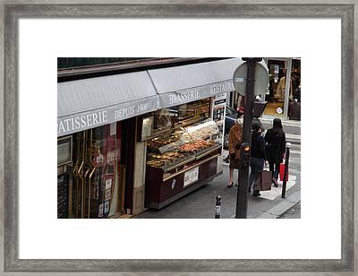 Street Scenes - Paris France - 011336 Framed Print by DC Photographer