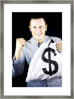 Success Brings Wealth Framed Print by Jorgo Photography - Wall Art Gallery
