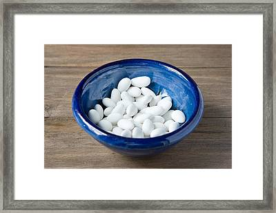 Sugared Almonds Framed Print by Tom Gowanlock