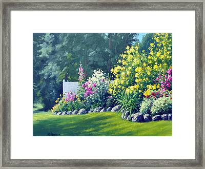 Summer Bouquet Framed Print by Rick Hansen