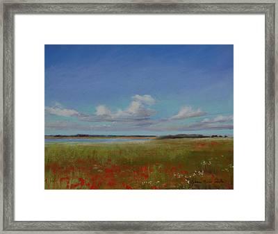 Summer Day Framed Print by Jeanne Rosier Smith