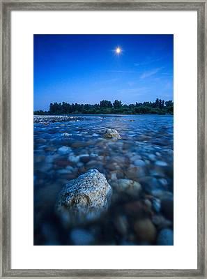 Summer Night Framed Print by Davorin Mance