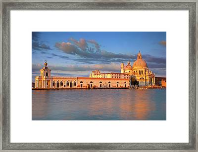 Sunrise Over Santa Maria Della Salute Framed Print by Brian Jannsen
