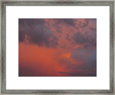 Sunset Framed Print by Michael Fitzpatrick