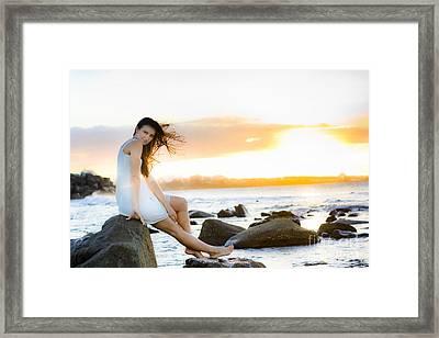 Sunset Framed Print by Jorgo Photography - Wall Art Gallery