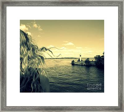 Sunshine Framed Print by France Laliberte