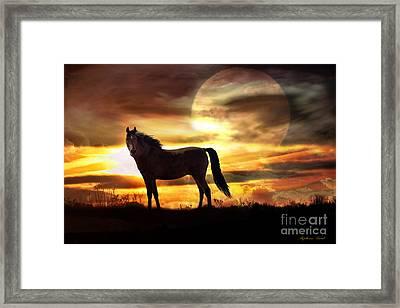 Sunstorm Framed Print by Stephanie Laird
