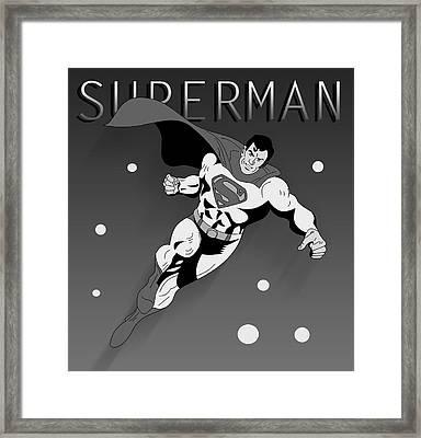 Superman  Framed Print by Mark Ashkenazi