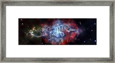 Supernova Remnant Framed Print by Nasa/cxc/sao