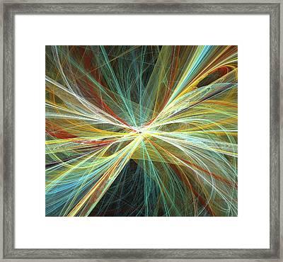 Superstrings Framed Print by Alfred Pasieka