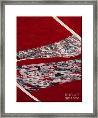 Swirl Framed Print by Gabriele Mueller