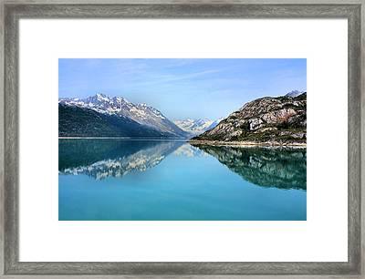 Symmetry Framed Print by Kristin Elmquist