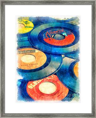 Take Those Old Records Off The Shelf Framed Print by Edward Fielding