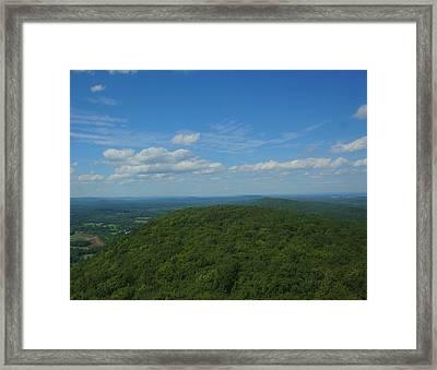 Talcott Mountain High Framed Print by Stephen Melcher