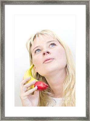 Talking Bananas Framed Print by Jorgo Photography - Wall Art Gallery