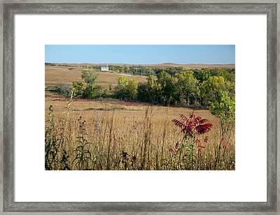 Tallgrass Prairie Framed Print by Jim West