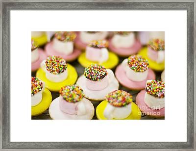 Tea Cup Lollies Framed Print by Jorgo Photography - Wall Art Gallery