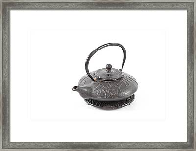 Tea Pot Framed Print by Tom Gowanlock