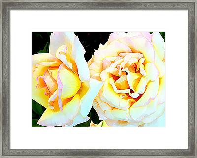 Tenderly Framed Print by Mindy Newman