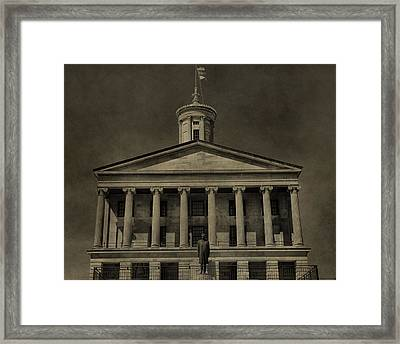 Tennessee Capitol Building Framed Print by Dan Sproul