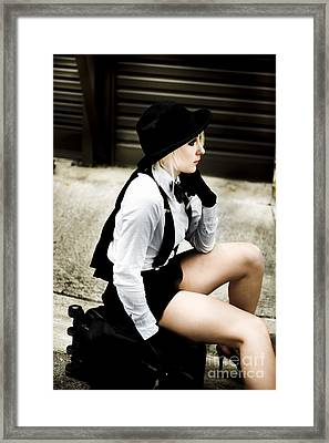 Terminal Boredom Framed Print by Jorgo Photography - Wall Art Gallery