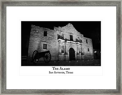 The Alamo Framed Print by Stephen Stookey