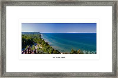 The Arcadia Overlook Framed Print by Twenty Two North Photography