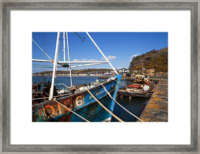 The Ard Eireann Fishing Boat Framed Print by Panoramic Images