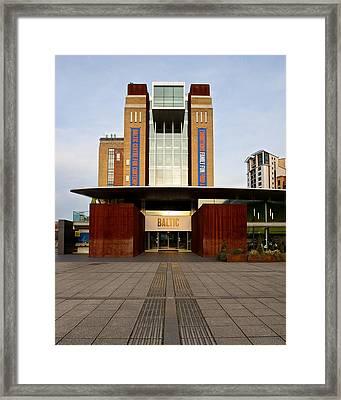 The Baltic - Gateshead Framed Print by Stephen Taylor