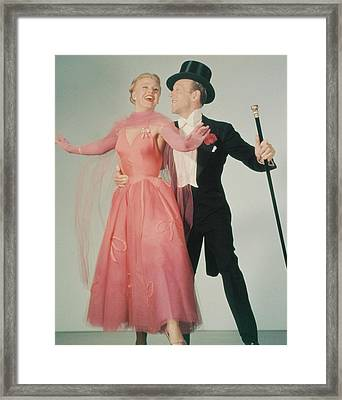 The Barkleys Of Broadway Framed Print by Silver Screen
