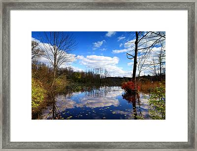 The Beautiful Autumn Framed Print by Paul Ge