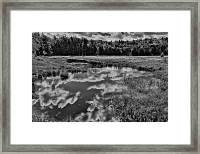 The Beautiful Cary Lake - Old Forge New York Framed Print by David Patterson