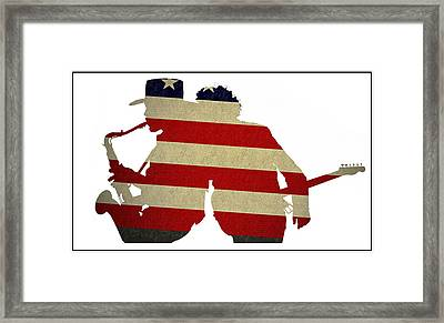The Big Man And The Boss Framed Print by Bill Cannon