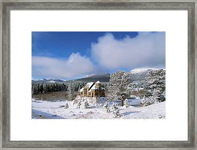 The Chapel On The Rock I Framed Print by Eric Glaser