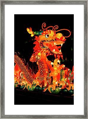 The Chinese Mid-autumn Harvest Festival Framed Print by Jaina Mishra