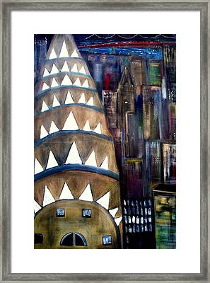 The City That Never Sleeps  Framed Print by Rick Todaro